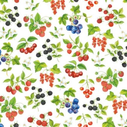 Ambiente Europe BV Lunch napkins☆Fruit☆ (20pcs)