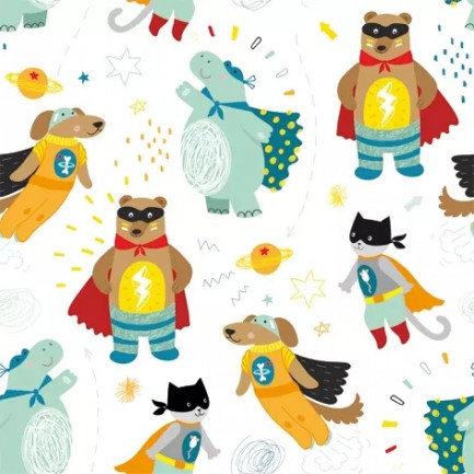 ti-flair Lunch napkins☆Superheros☆ (20pcs)