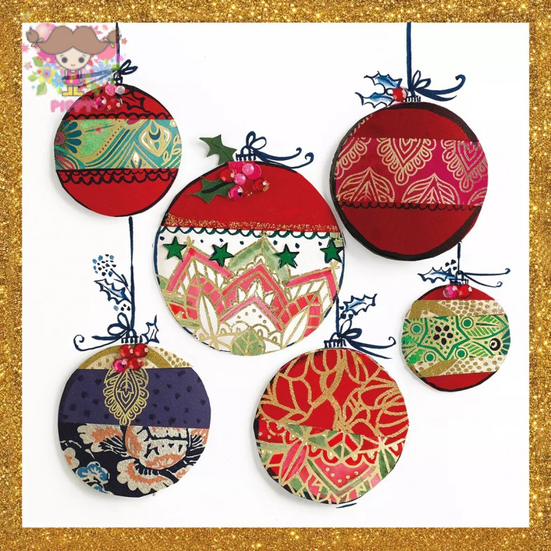 PAPERPRODUCTS DESIGN☆Christmas Ornaments☆ (20pcs)
