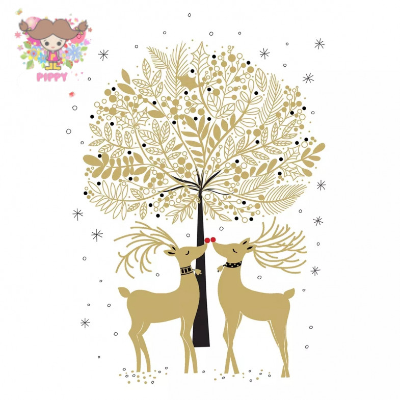 PAPERPRODUCTS DESIGN☆Cerfs d´Or☆ (20pcs)