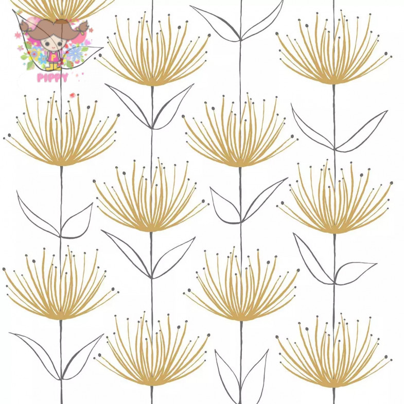 PAPERPRODUCTS DESIGN☆Flowers on Fire gold☆ (20pcs)