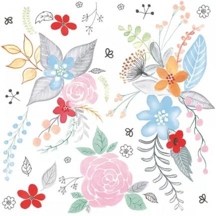 Daisy Pol-Mak  Lunch napkins ☆Garden Fantasy☆(20pcs)