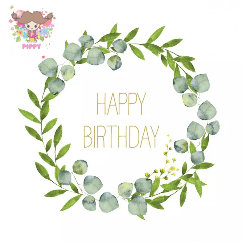 PAPERPRODUCTS DESIGN☆Happy B´day☆ (20pcs)