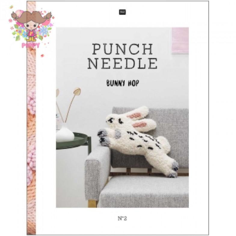 RICO DESIGN☆BOOK PUNCH NEEDLE NO.2☆