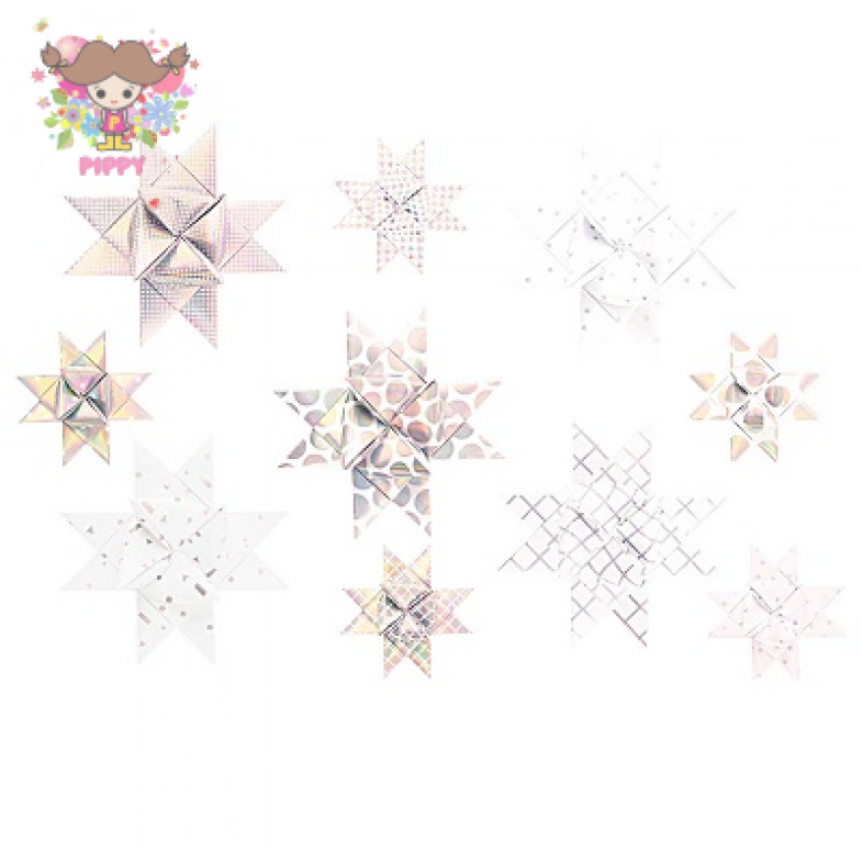 FROEBEL STAR ☆GRAPHIC, WEISS-PASTELL 40 STÜCK☆