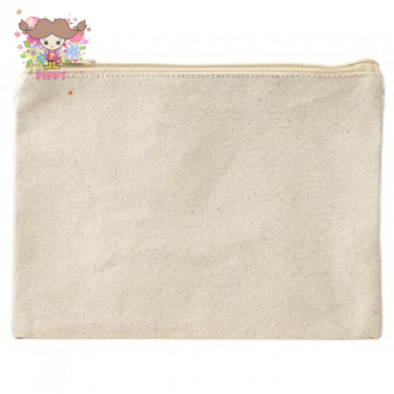 12 oz Flat cotton pouch