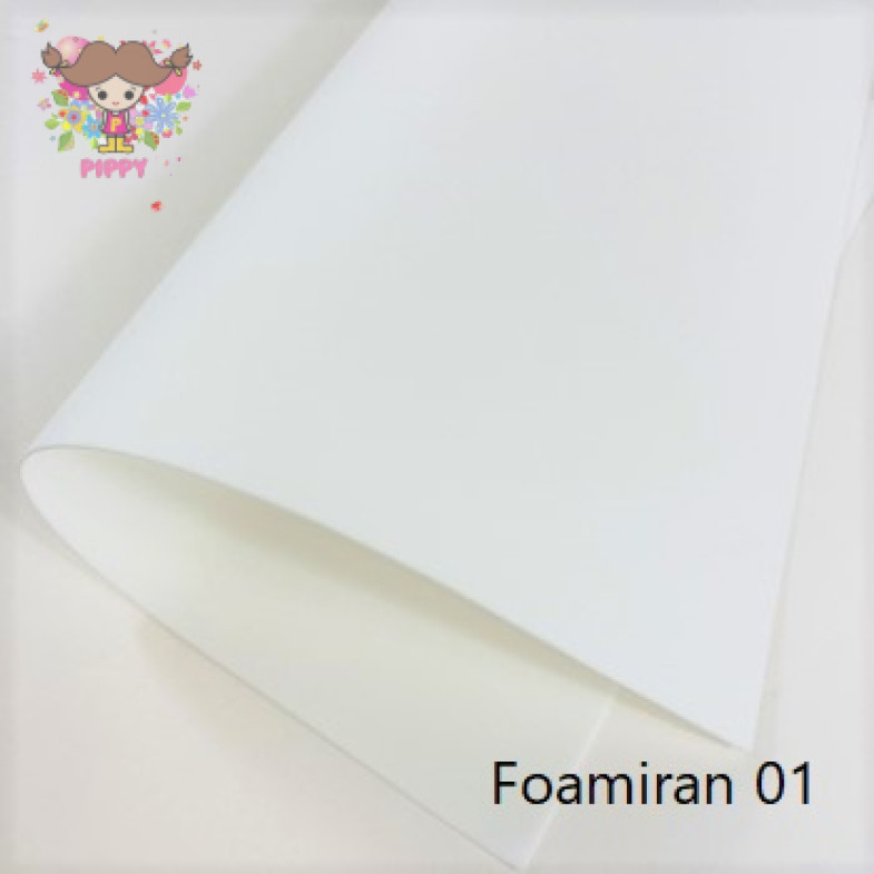 Foamiran 50cm×60cm☆white☆