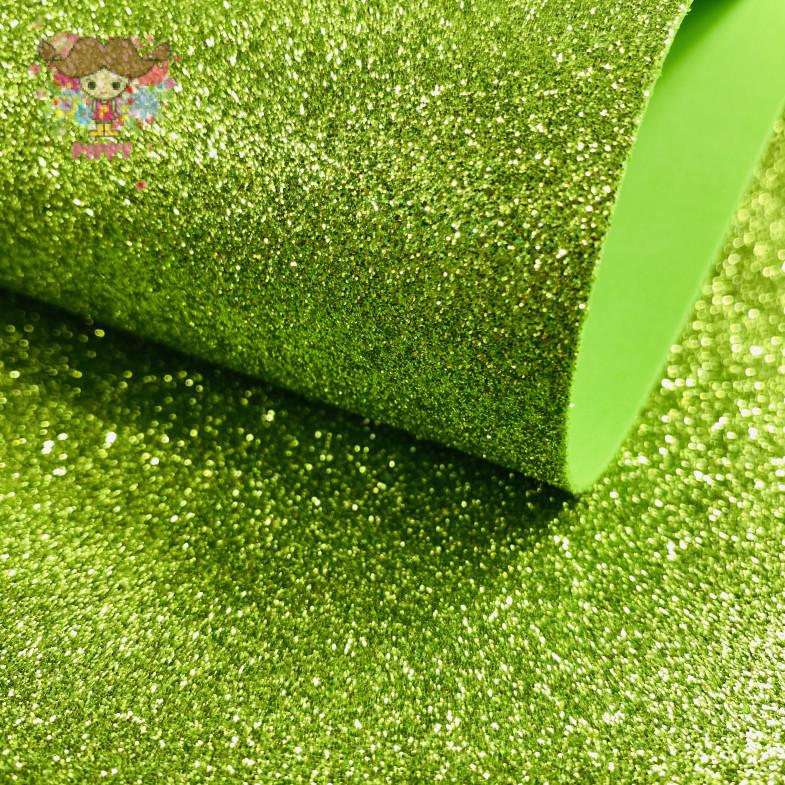 GlitterFoam 50cm×60cm 2mm☆Green☆
