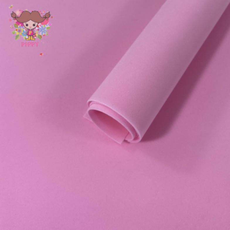 MarshmallowFoamiran 40cm×40cm 1mm☆FUCHSIA☆