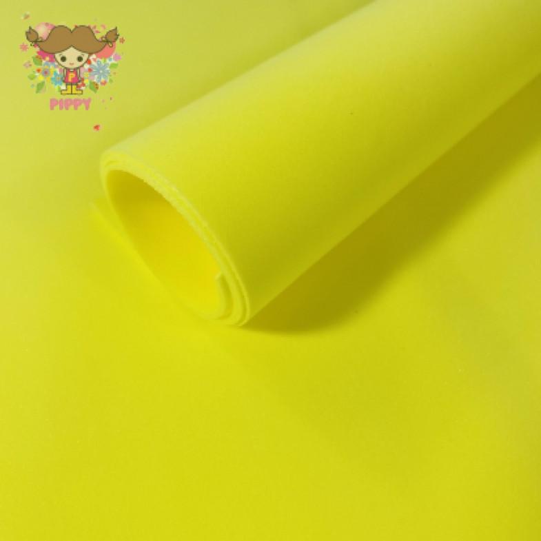 MarshmallowFoamiran 40cm×40cm 1mm☆YELLOW☆
