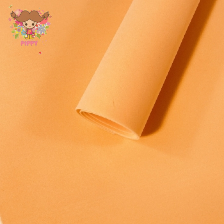 MarshmallowFoamiran 40cm×40cm 1mm☆APRICOT☆
