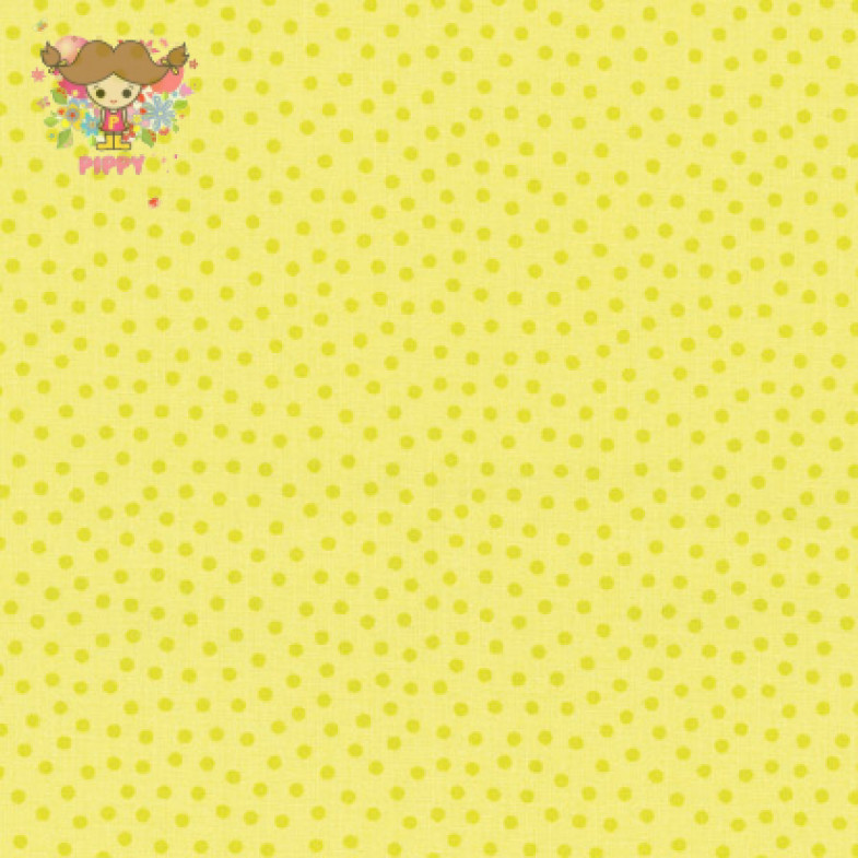 Westfalenstoffe Fabric ☆Dot Small Yellow☆