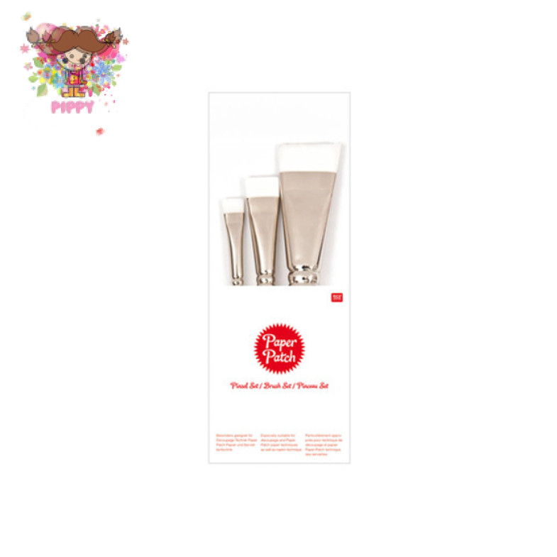 Rico Design Paper Patch brush set