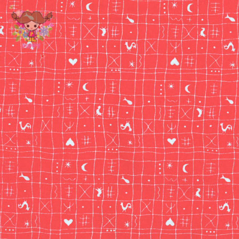 Westfalenstoffe Fabric ☆Plaid red☆