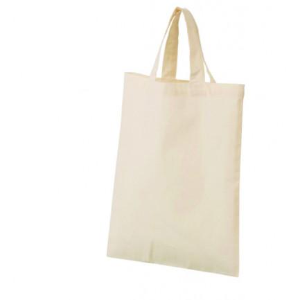 A4コットントート《無地 マチ付き デコパージュ ペーパーナプキン クラフト バッグ 綿100% 3.5オンス》