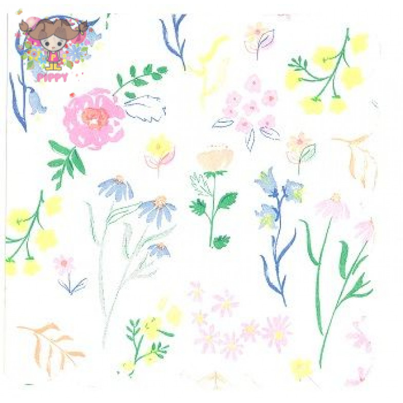 Meri Meri Lunch napkins☆ flower☆(20item)