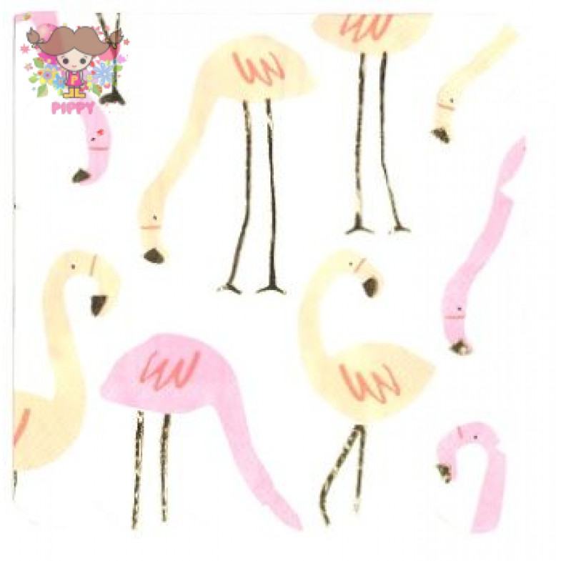 Meri Meri Lunch napkins☆ Flamingo☆(16pcs)