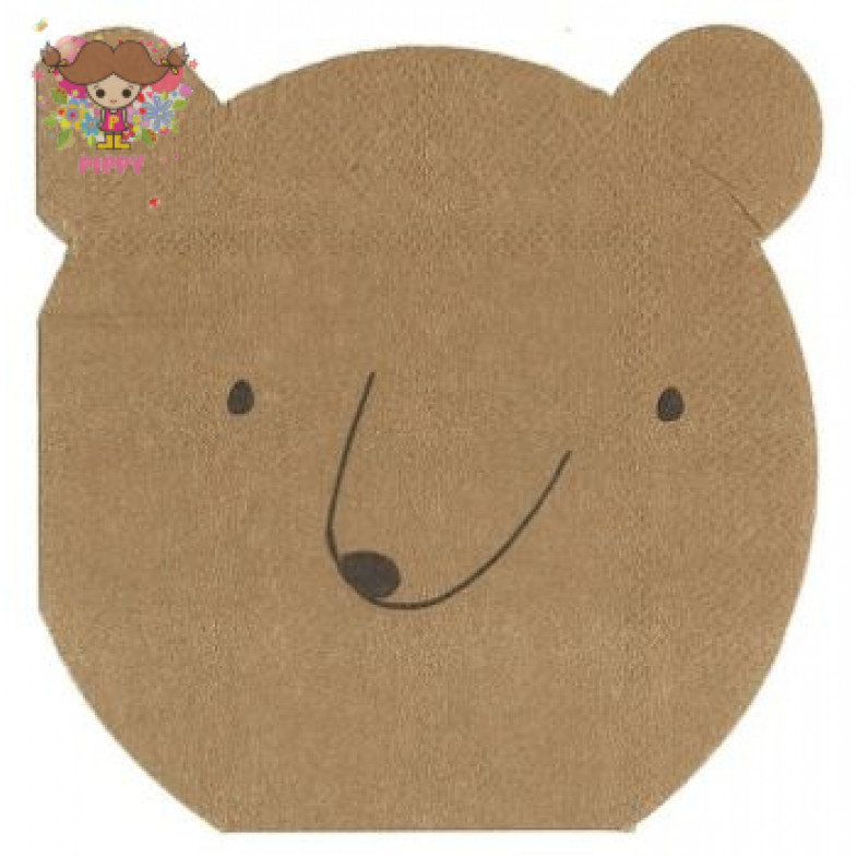 Meri Meri Lunch napkins☆ bear(20item)