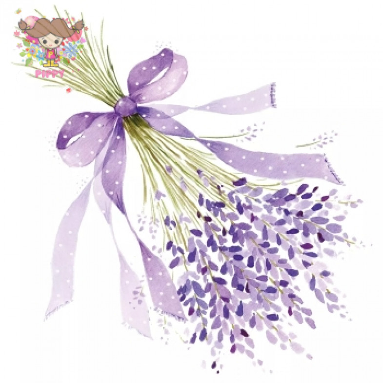 Paperprouducts Lunch napkins ☆Lavender☆(20pcs)