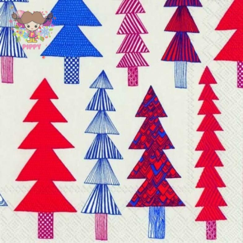 Marimekko Cocktail napkins KUUSIKOSSA red(25cm×25cm)(20pcs)