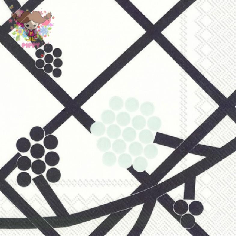 Marimekko Lunch napkins☆HORTENSIE turquoise☆(20pcs)
