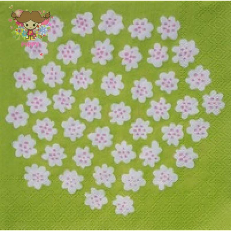 Marimekko Lunch napkins☆PUKETTI llght green☆(20pcs)