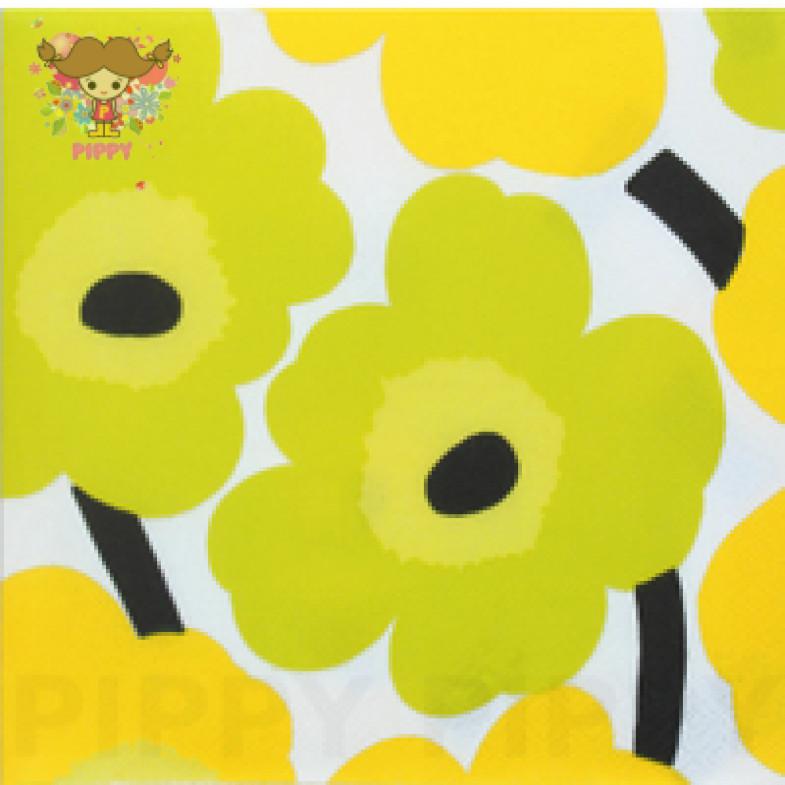 Marimekko Lunch napkins☆UNIKKO yellow☆(20pcs)