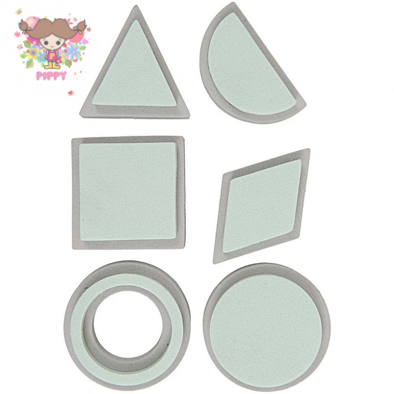 FOAM RUBBER STAMP☆SHAPES☆