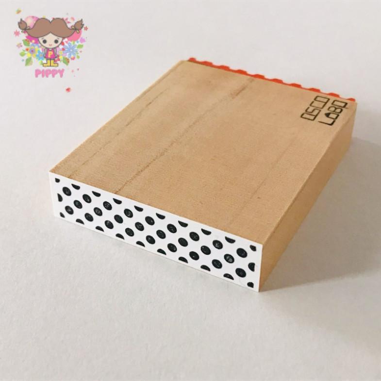 OSCOLABO STAMP☆[shape x pattern]tape wide: dot black☆