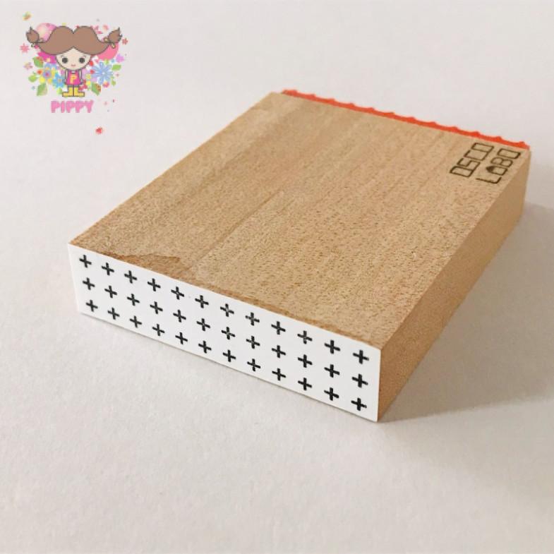 OSCOLABO STAMP☆ [shape x pattern] tape wide: cross☆