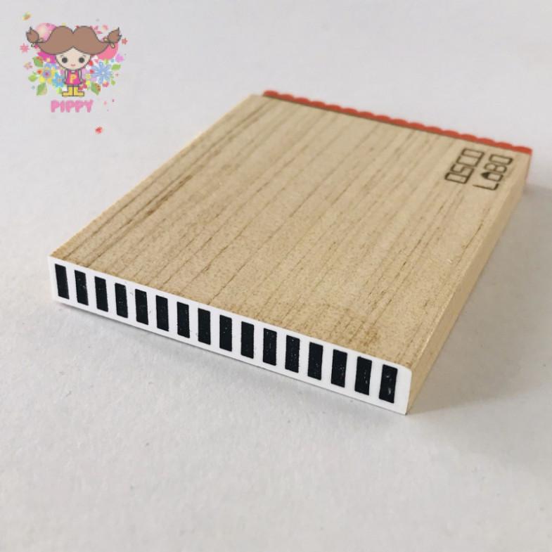 OSCOLABO STAMP☆[shape x pattern] tape narrow: stripe☆