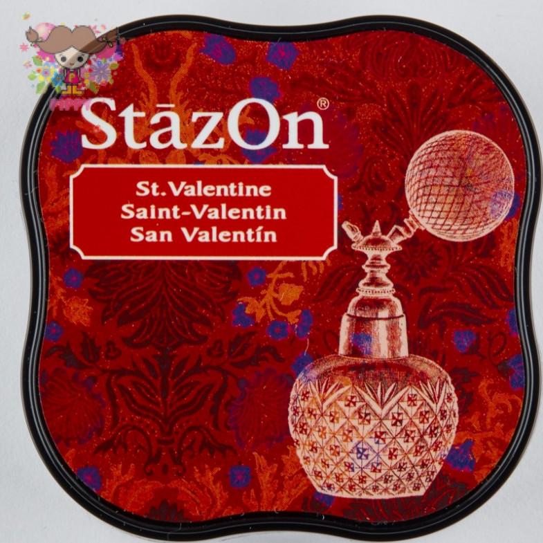 TSUKINEKO  STAMPINK ☆StazOn midi  St Valentine☆