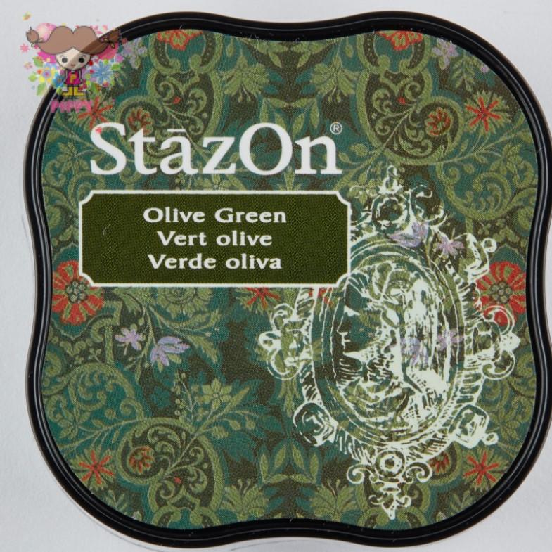 TSUKINEKO  STAMPINK ☆StazOn midi  Olive Green☆