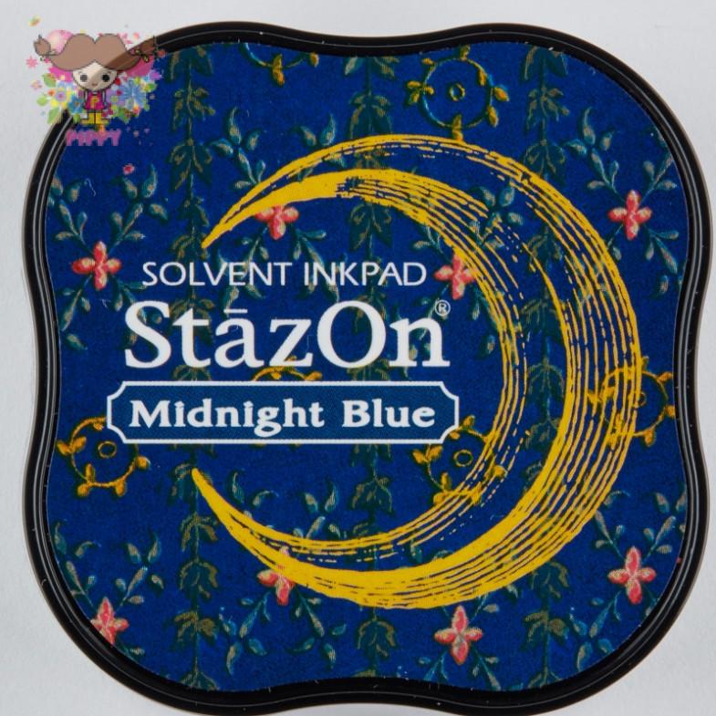 TSUKINEKO  STAMPINK ☆StazOn midi  Midnight Blue☆