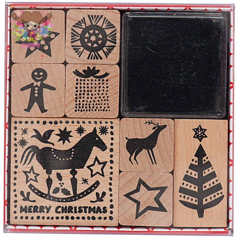 STAMP SET☆rocking horse☆