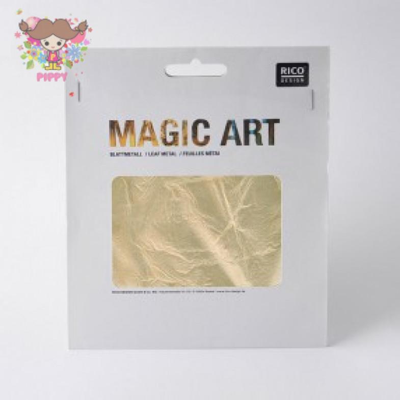 MAGIC ART BLATTMETALL 6 BLATT GOLD