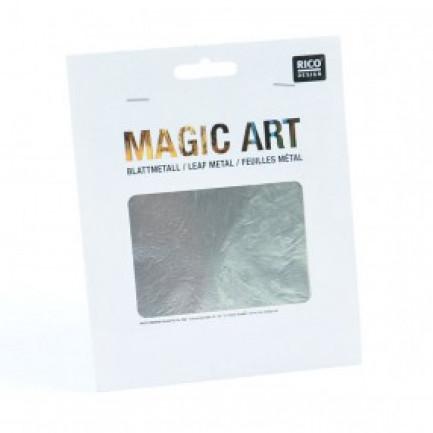 MAGIC ART BLATTMETALL 6 BLATT Silver