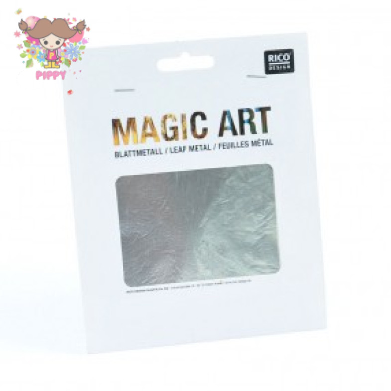 MAGIC ART BLATTMETALL 6 BLATT Silver
